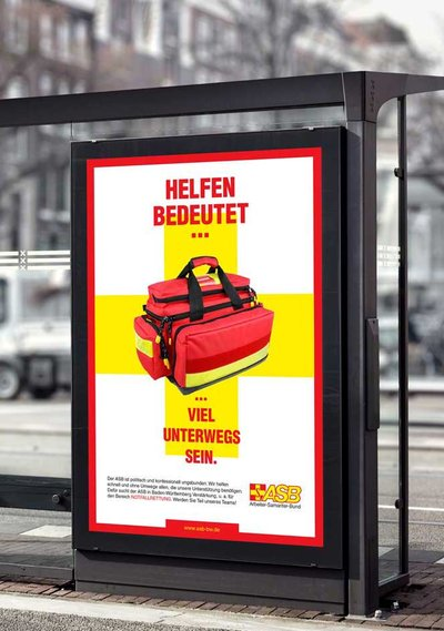 Print Design Recruiting-Kampagne